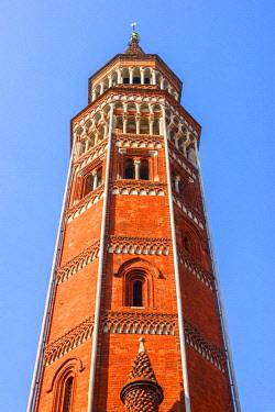ITA13301AWRF Bell Tower in Saint Gottardo in Corte, Milan, Lombardy, Italy
