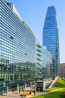 ITA13359AW BNP Paribas building at Porta Nuova district, Milan, Lombardy, Italy