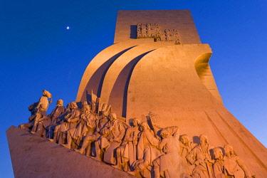 POR10043AWRF Monument of the Discoveries, Belem, Lisbon, Portugal,