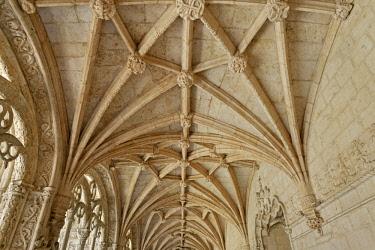 POR10045AWRF Mosteiro dos Jeronimos, UNESCO World Heritage Site, Belem, Lisbon, Portugal,