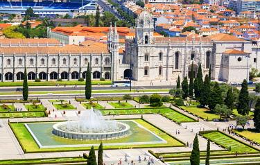 POR10057AW Mosteiro dos Jeronimos, UNESCO World Heritage Site, Belem, Lisbon, Portugal,