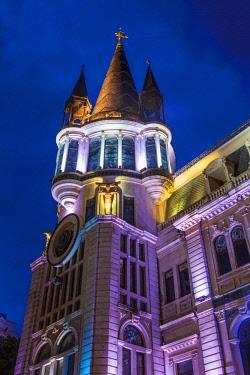 GG01325 Georgia, Batumi, Astronomical Clock Building