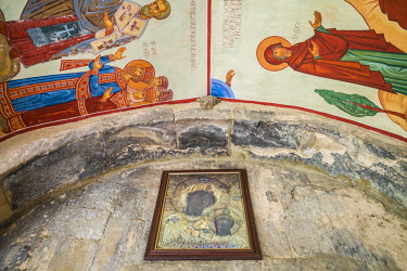 GG01382 Georgia, Mtskheta, spiritual town where Christianity was established in 327AD, St. Stephen Monastery Church
