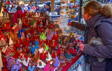 CZ01485 Czech Republic, Prague, Old Town, Stare Mesto, Old Town Square, Staromestske namestí, Christmas Markets
