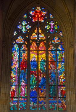 CZ01502 Czech Republic, Prague, Mala Strana, Prague Castle, St. Vitus Cathedral