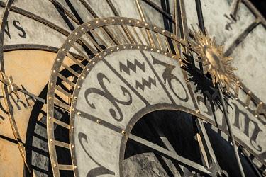 CZ01538 Czech Republic, Prague, Old Town, Stare Mesto, Old Town Square, Staromestske namestí, Astronomical Clock