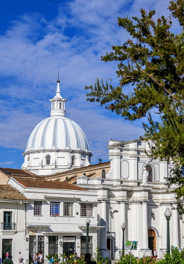 COL0672AW Cathedral Basilica of Our Lady of the Assumption, Popayan, Cauca Department, Colombia