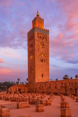 MOR2547AWRF Koutoubia Mosque, Marrakech, Morocco
