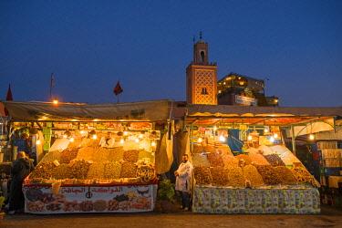 MOR2519AW Jemaa el-Fnaa  place, Marrakech, Morocco