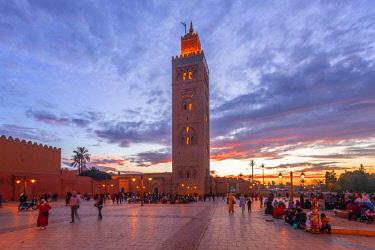 MOR2531AW Koutoubia Mosque, Marrakech, Morocco