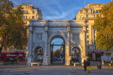 UK11668 UK, England, London, West End, Marble March
