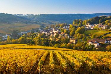 FRA10942AW France, Bourgogne-Franche-Comte, Burgundy, Cote-d'Or, Pernand-Vergelesses.
