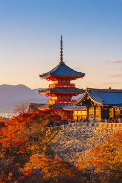 JAP1482AW Kiyomizu-dera temple, Kyoto, Kyoto prefecture, Kansai region, Japan.