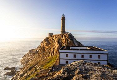 SPA8634AWRF Cape Vilan Lighthouse, Costa Morte, La Coruna Province, Galicia, Spain