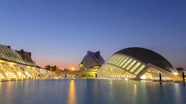 SPA8641AW City of Arts and Sciences, Ciutata de les Arts i les Ciencies, Valencia, Spain