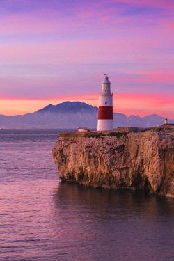 GB01038 Gibraltar, Europa Point Lighthouse