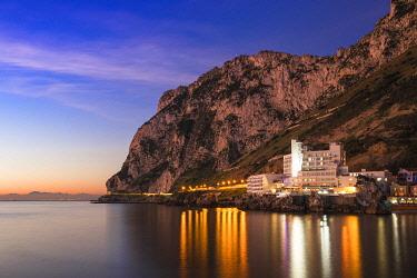 GB01059 Gibraltar, Catalan Bay, The Caleta Hotel