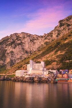 GB01061 Gibraltar, Catalan Bay, The Caleta Hotel