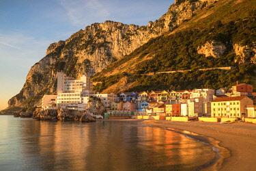 GB01064 Gibraltar, Catalan Bay, The Caleta Hotel