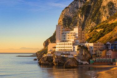 GB01071 Gibraltar, Catalan Bay, The Caleta Hotel