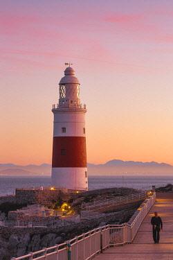 GB01078 Gibraltar, Europa Point Lighthouse