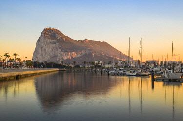 GB01106 Gibraltar, View of Rock of Gibraltar