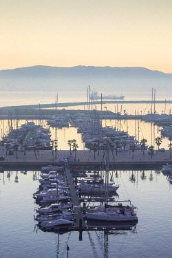 GB01141 Spain, La Linea, Marina