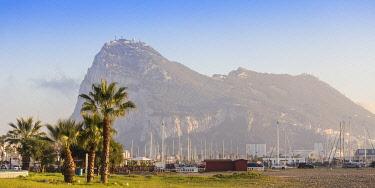 GB01145 Gibraltar, View of Rock of Gibraltar