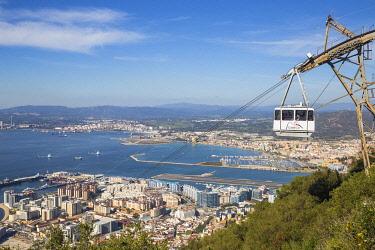 GB01170 Gibraltar, Rock of Gibraltar, Cable car