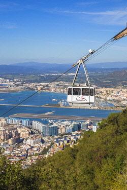 GB01171 Gibraltar, Rock of Gibraltar, Cable car