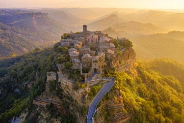 CLKAC100046 'The Dying Town', Civita di Bagnoregio, Viterbo district, Lazio, Italy, Europe