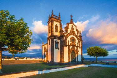CLKFV99396 Portugal, Azores, Sao Miguel Island, Ponta Delgada, Ermida da Mae de Deus chapel