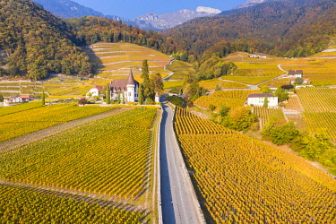 CLKAC99567 Chateau Maison Blanche, Yvorne, Canton of Vaud, Switzerland