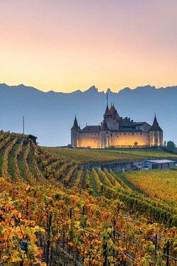 CLKAC99588 Aigle Castle, Aigle, Canton of Vaud, Switzerland, Europe