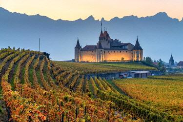 CLKAC99589 Aigle Castle, Aigle, Canton of Vaud, Switzerland, Europe