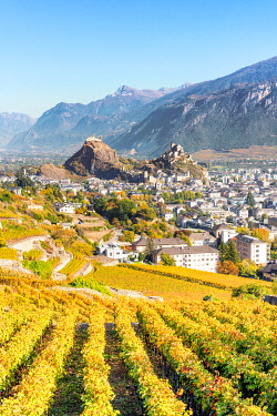 Sion, Canton of Valais, Switzerland, Europe