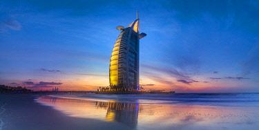 UE01864 UAE, Dubai, Jumeirah, Burj Al Arab Hotel