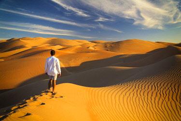 UE02554 UAE, Abu Dhabi Province, Liwa Oasis, Rub Al Khali desert (Empty Quarter) MR