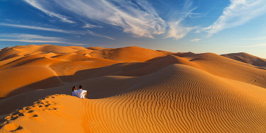 UE02555 UAE, Abu Dhabi Province, Liwa Oasis, Rub Al Khali desert (Empty Quarter) MR