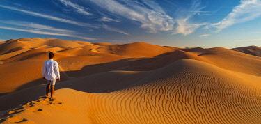 UE02556 UAE, Abu Dhabi Province, Liwa Oasis, Rub Al Khali desert (Empty Quarter) MR