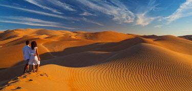 UE02557 UAE, Abu Dhabi Province, Liwa Oasis, Rub Al Khali desert (Empty Quarter) MR