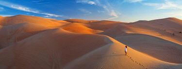 UE02560 UAE, Abu Dhabi Province, Liwa Oasis, Rub Al Khali desert (Empty Quarter)
