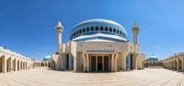 JOR0597AW Jordan, Amman Governorate, Amman. King Abdullah I Mosque.