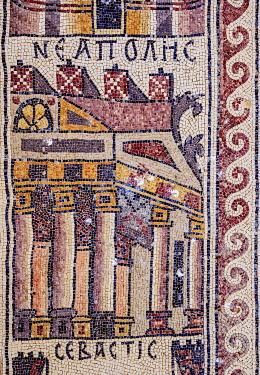JOR0787AW Mosaic Floor in Umm ar-Rasas, Amman Governorate, Jordan