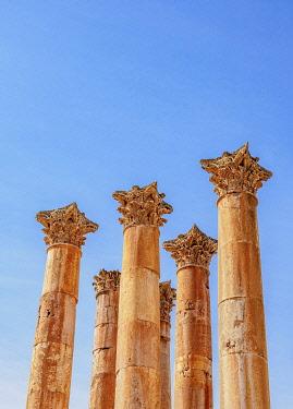 JOR0807AW Temple of Artemis, Jerash, Jerash Governorate, Jordan
