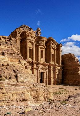 JOR0858AW The Monastery, Ad-Deir, Petra, Ma'an Governorate, Jordan