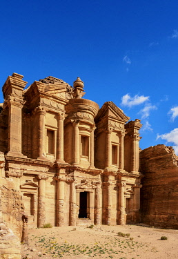JOR0859AW The Monastery, Ad-Deir, Petra, Ma'an Governorate, Jordan