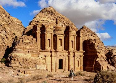 JOR0863AW The Monastery, Ad-Deir, Petra, Ma'an Governorate, Jordan