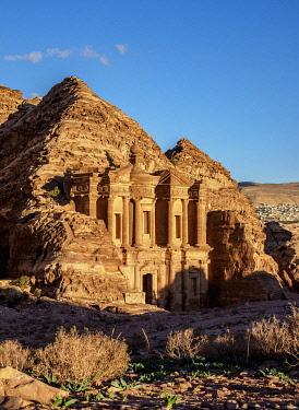 JOR0867AW The Monastery, Ad-Deir, Petra, Ma'an Governorate, Jordan