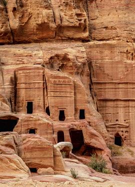 JOR0874AW Street of Facades, Petra, Ma'an Governorate, Jordan